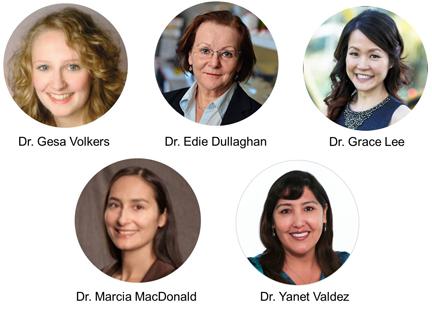 Women in Life Sciences Industry Panelists